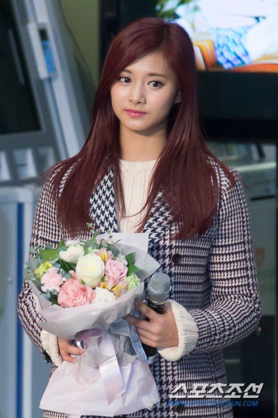 「JYP所属歌手と共に」に出演したTWICEツウィ
